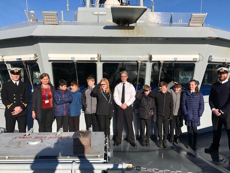 Visit to HMS Tyne