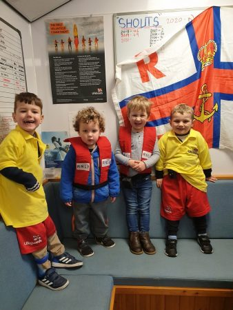 Fun at the Lifeboat Station!