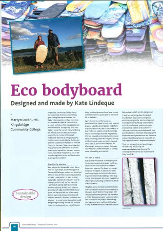 Kingsbridge Community College Successful Student Design Article