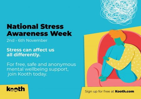 Stress Awareness Week – 2nd to 6th November