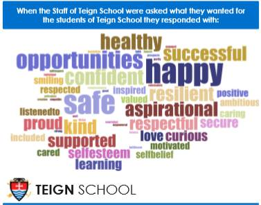 World Children's Day at Teign School