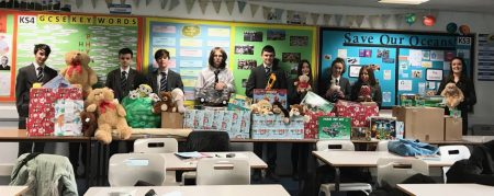 Thank you from the Salvation Army Christmas Gift Appeal to Coombeshead Academy