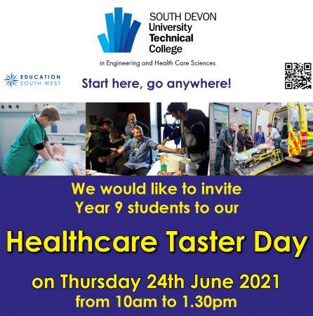 UTC Healthcare Taster Day